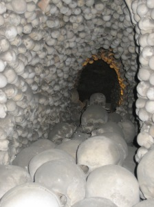 "This is a picture from the ""tunnel"" in the above stack."