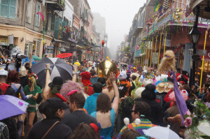 Mardi Gras walking krewe st anthony ramblers