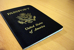 The beloved passport. Image courtesy of Damian Bariexca via Flckr